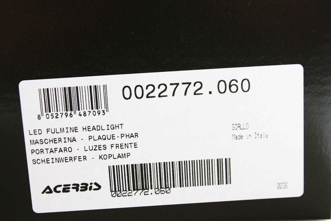 Details zu Acerbis Motorrad Scheinwerfer LED 2430 lm 50000h Fulmine Headlight Enduro